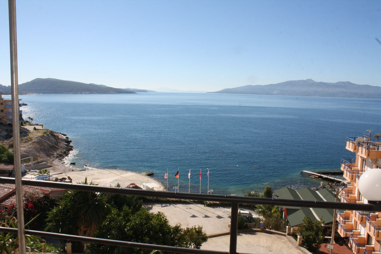Holiday Apartments in Albania. One bedroom  Apartment for rent  in Saranda