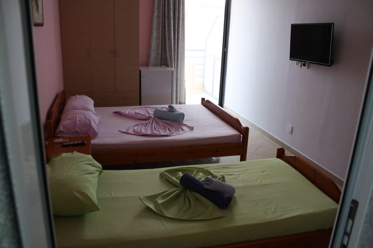 Studio do wynajęcia w Saranda. Widok na morze apartament do wynajęcia w Albanii