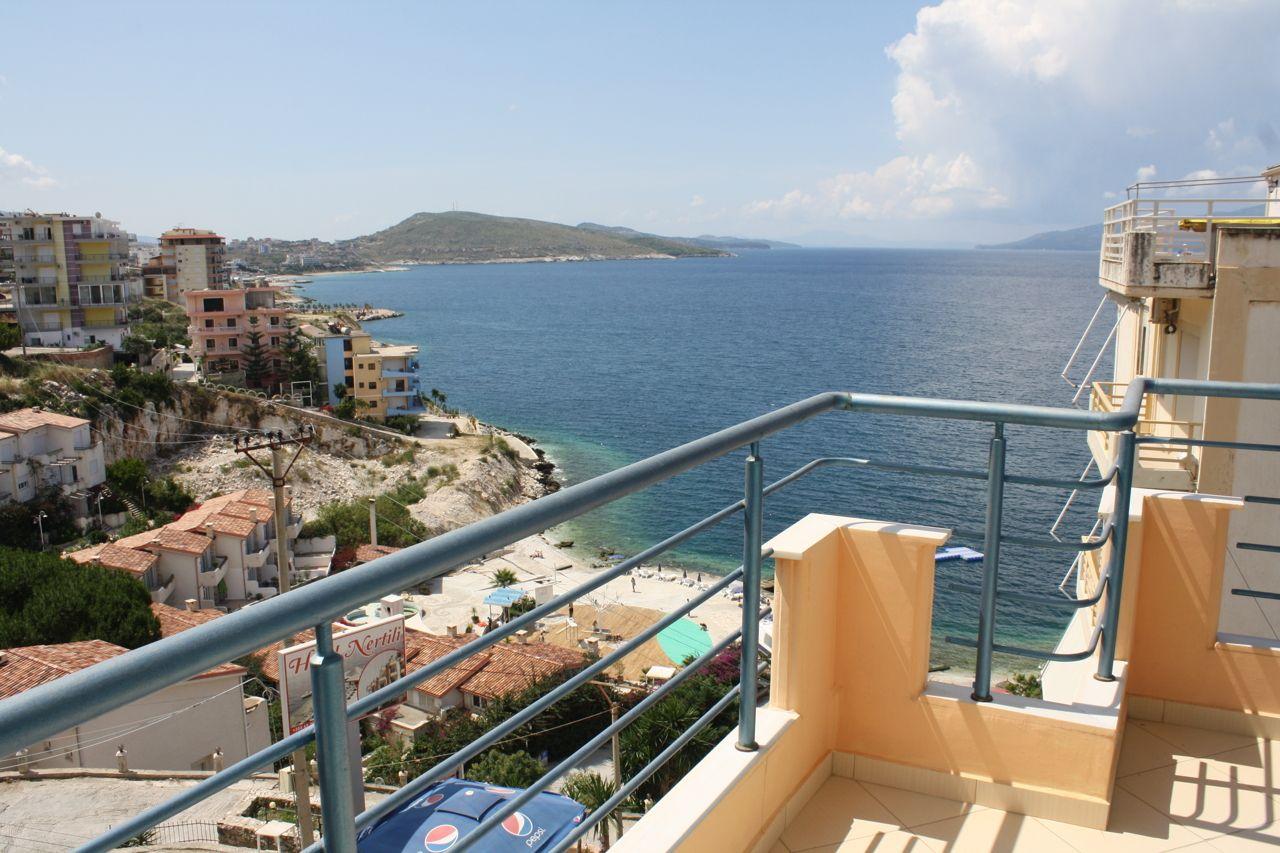 Garsoniere me qera ne Sarande. Apartament me pamje deti per qera ne Shqiperi