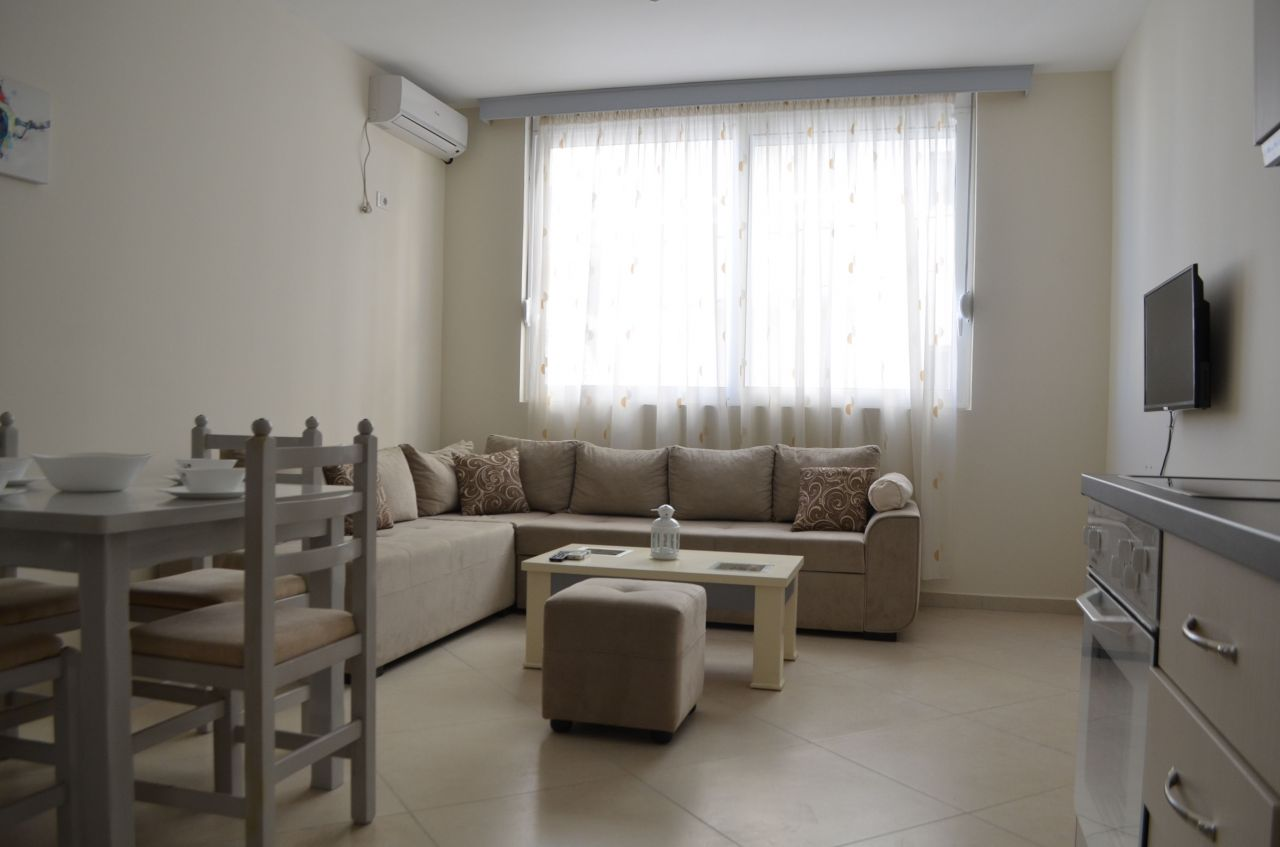 vacation apartments for rent in Saranda sea front. apartments in Saranda for rent