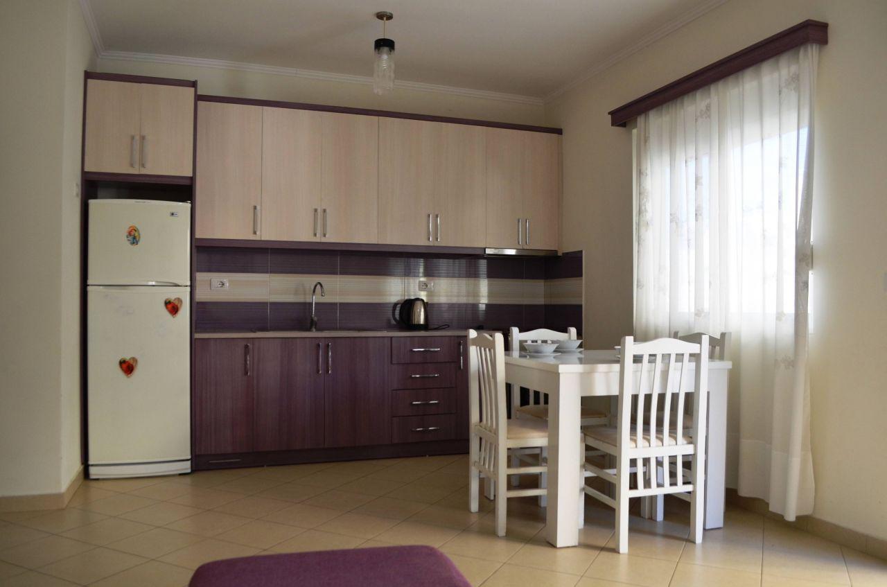 Sea View Apartment For Rent In Saranda, Albania