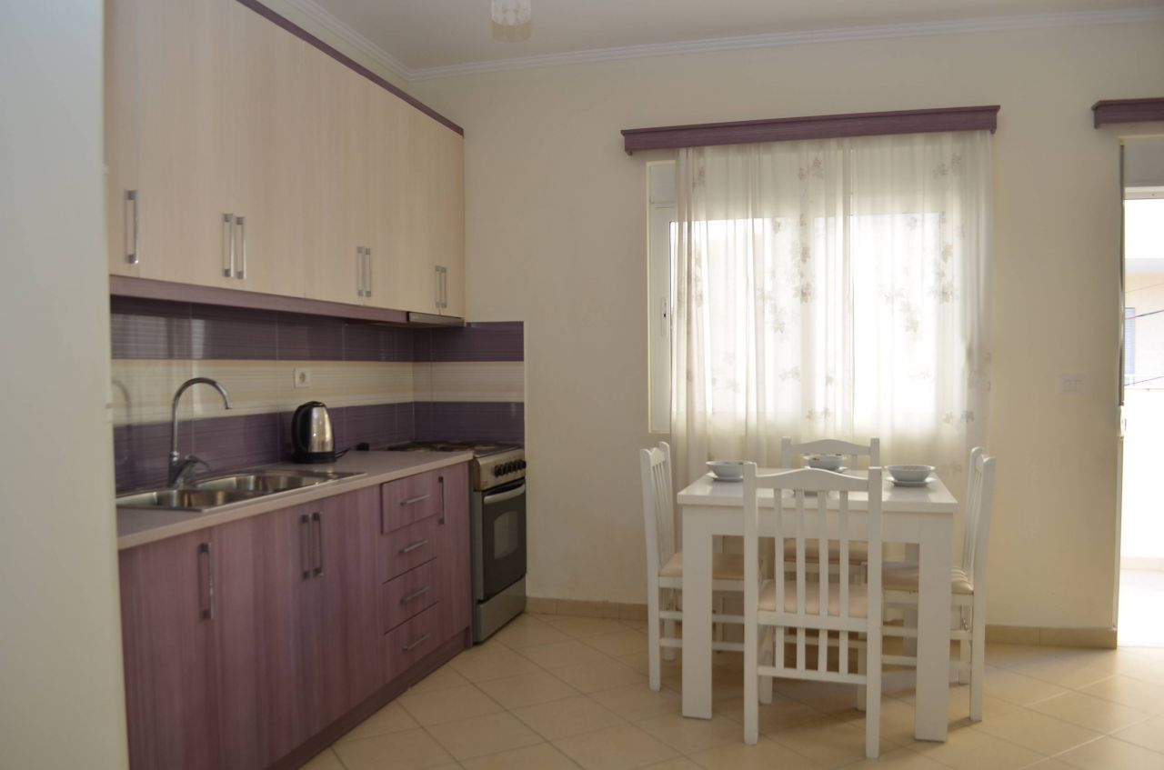 Sea View Apartment For Rent In Saranda, Albania