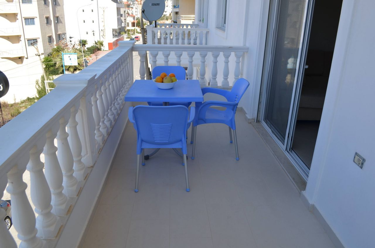 Apartments in South Albania Saranda With Sea View For Vacation Rent