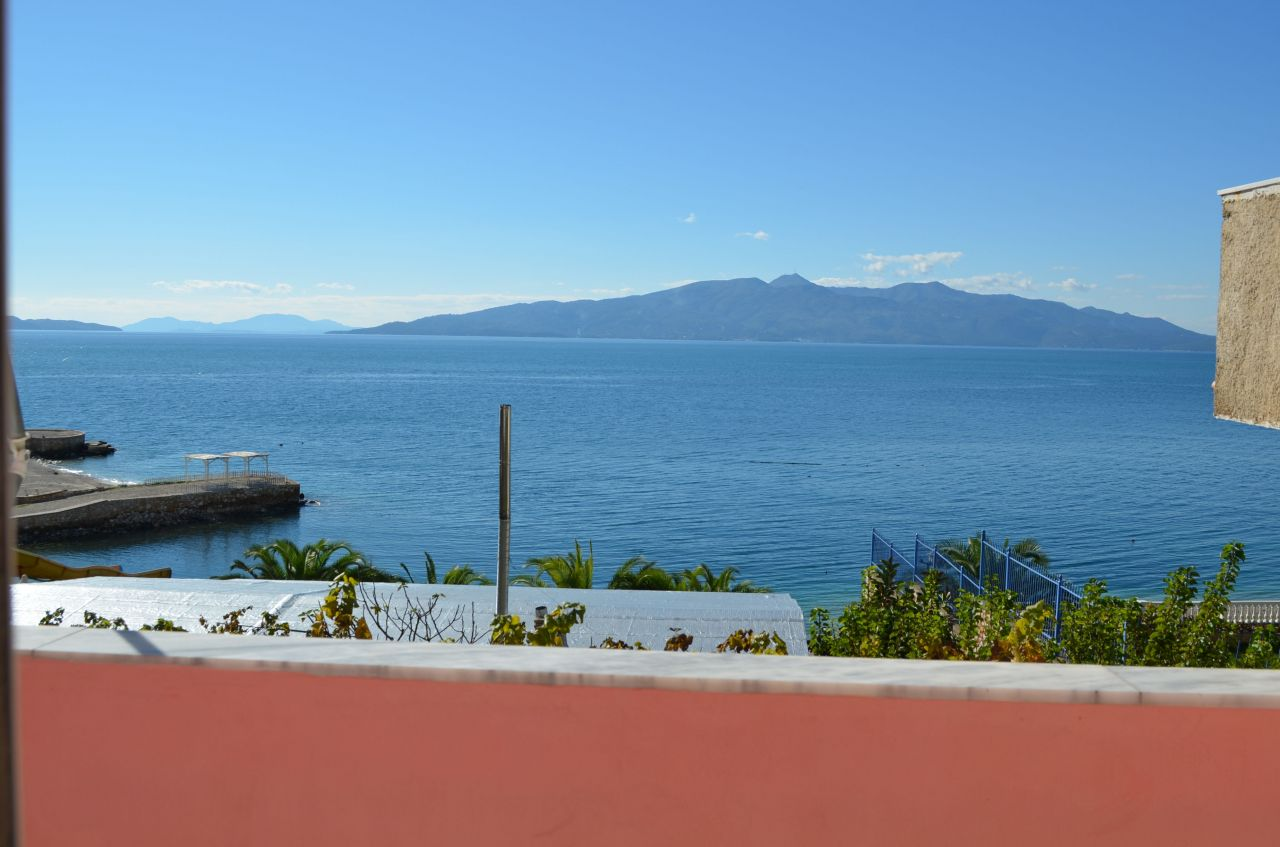 apartment with sea view for rent in saranda
