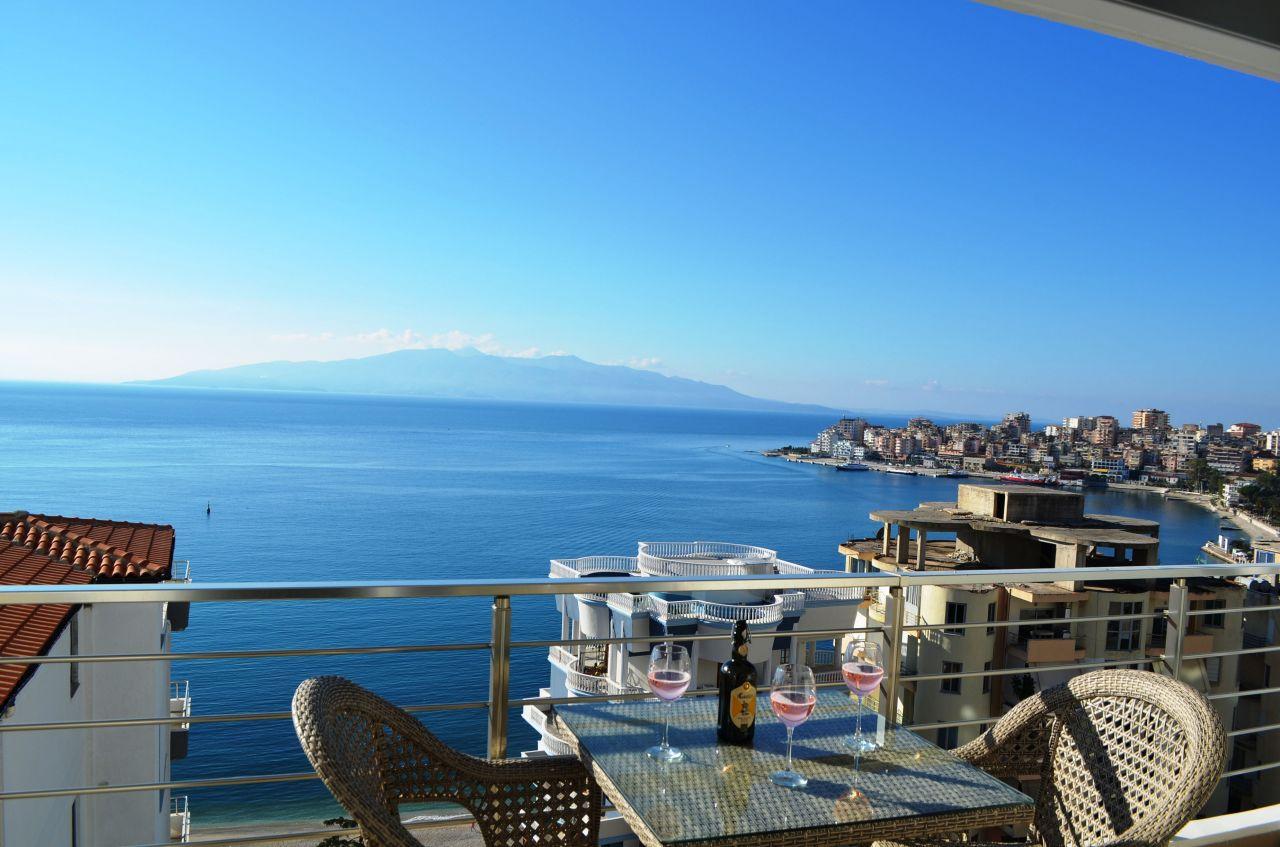 WONDERFUL APARTMENT FOR RENT IN SARANDA. VACATION APARTMENTS IN ALBANIA