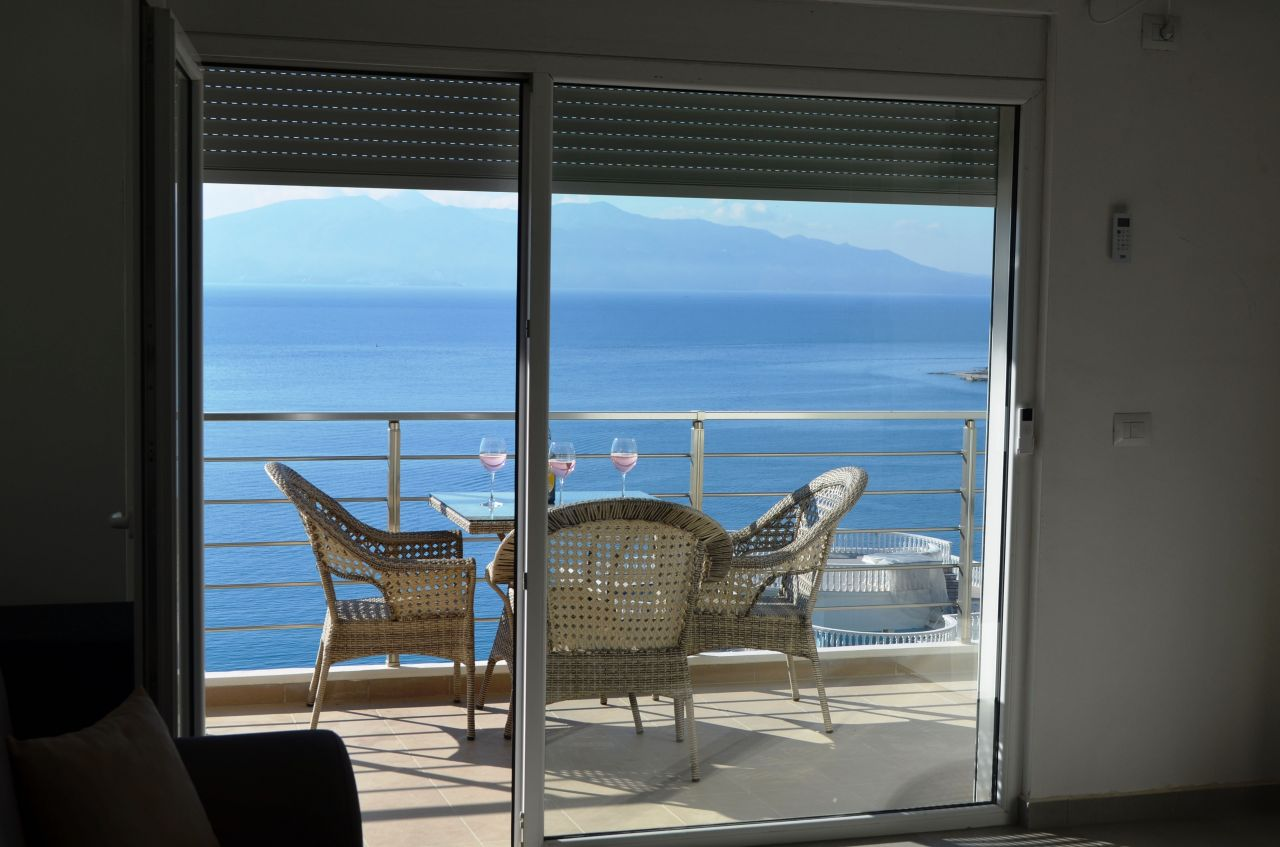 WONDERFUL APARTMENT FOR RENT IN SARANDA. VACATION APARTMENTS IN ALBANIA