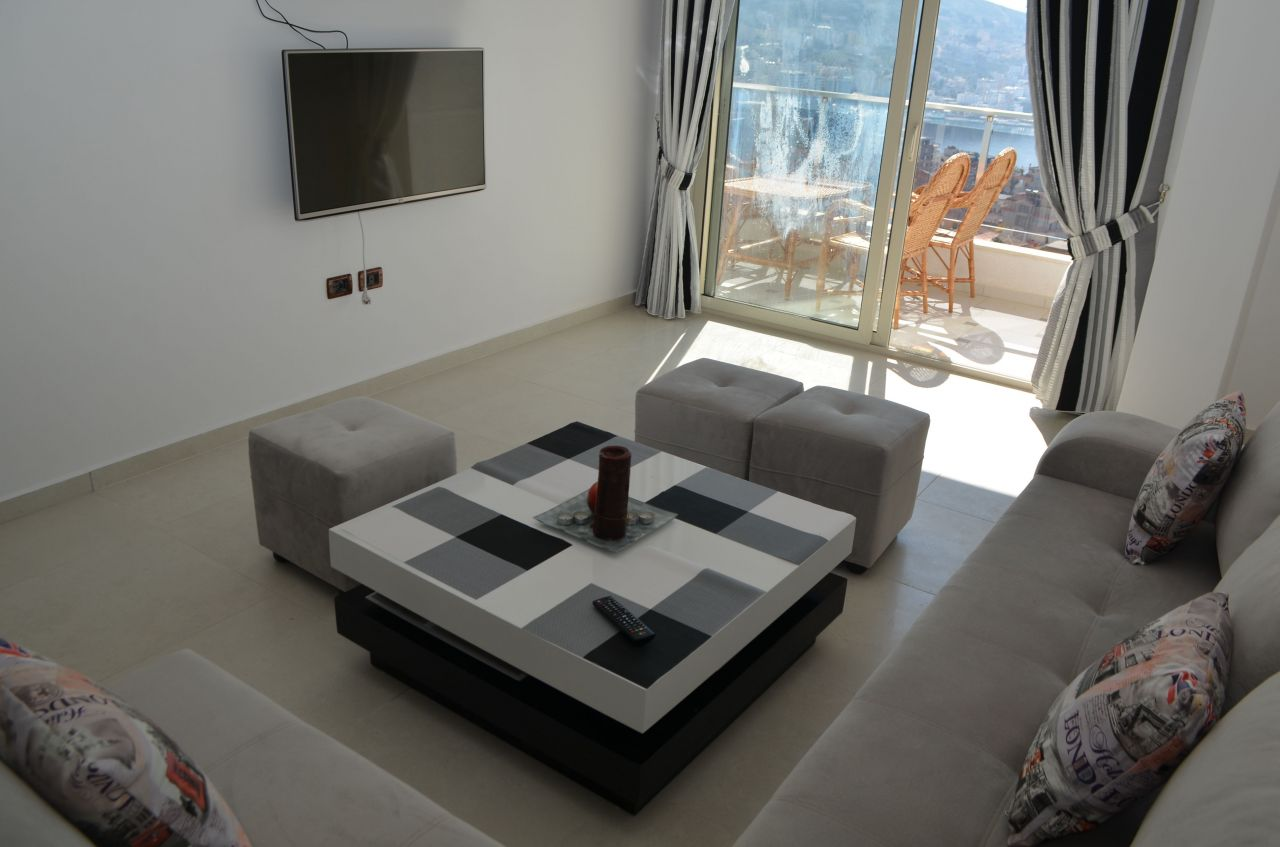 Holiday Apartment in Sarande, with a beautiful sea view