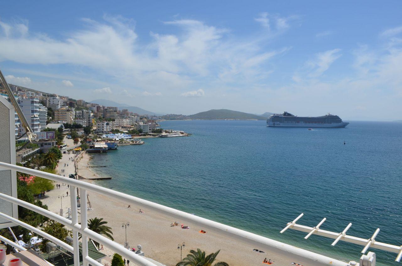 sea view apartment in saranda for rent holiday rentals in saranda