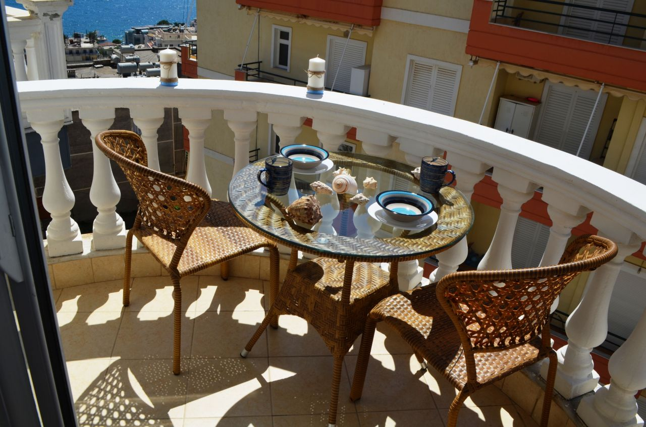 Holiday apartment for rent in Saranda, near city center