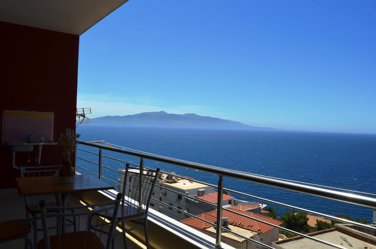 Holiday Apartment for Rent in Saranda, with a beautiful view