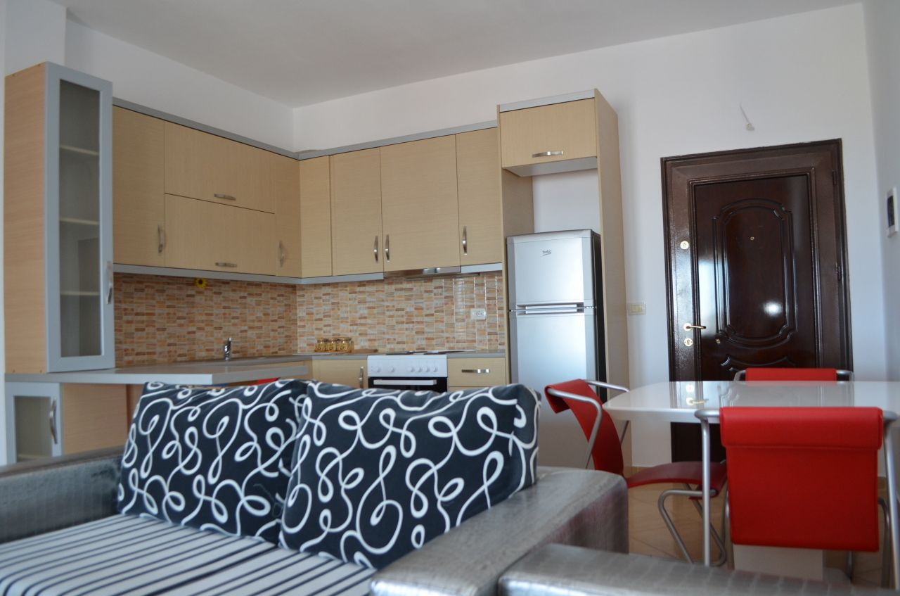 Holiday apartment in Saranda. One bedroom apartment