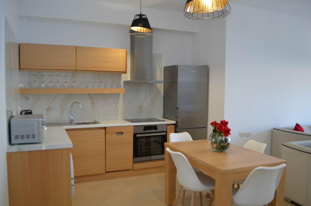 Luxurious Vacation Rental Apartment in Saranda: