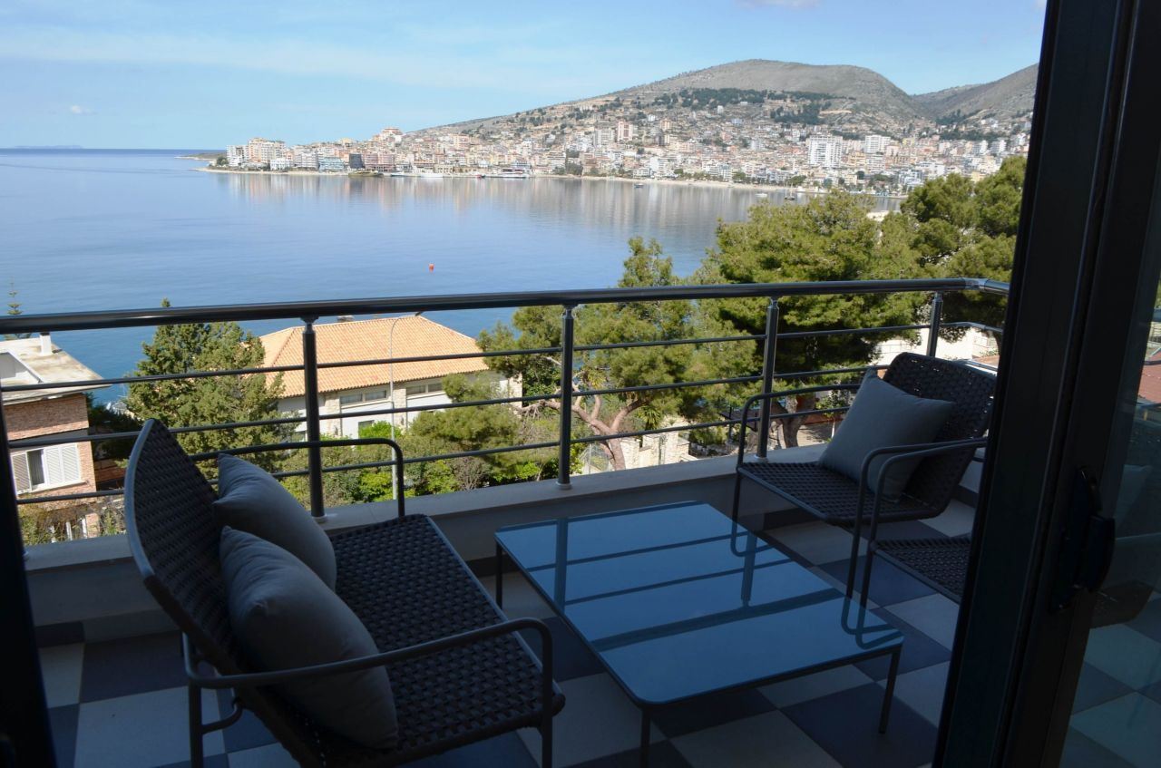 Luxurious Vacation Rental Apartment in Saranda: