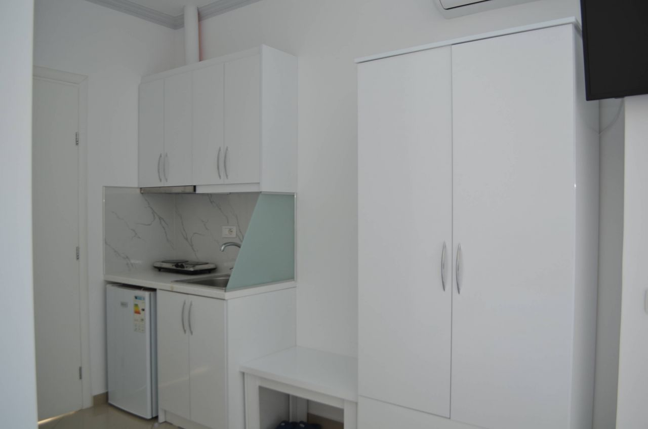STUDIO APARTMENT IN ALBANIA. APARTMENT FOR RENT IN SARANDA