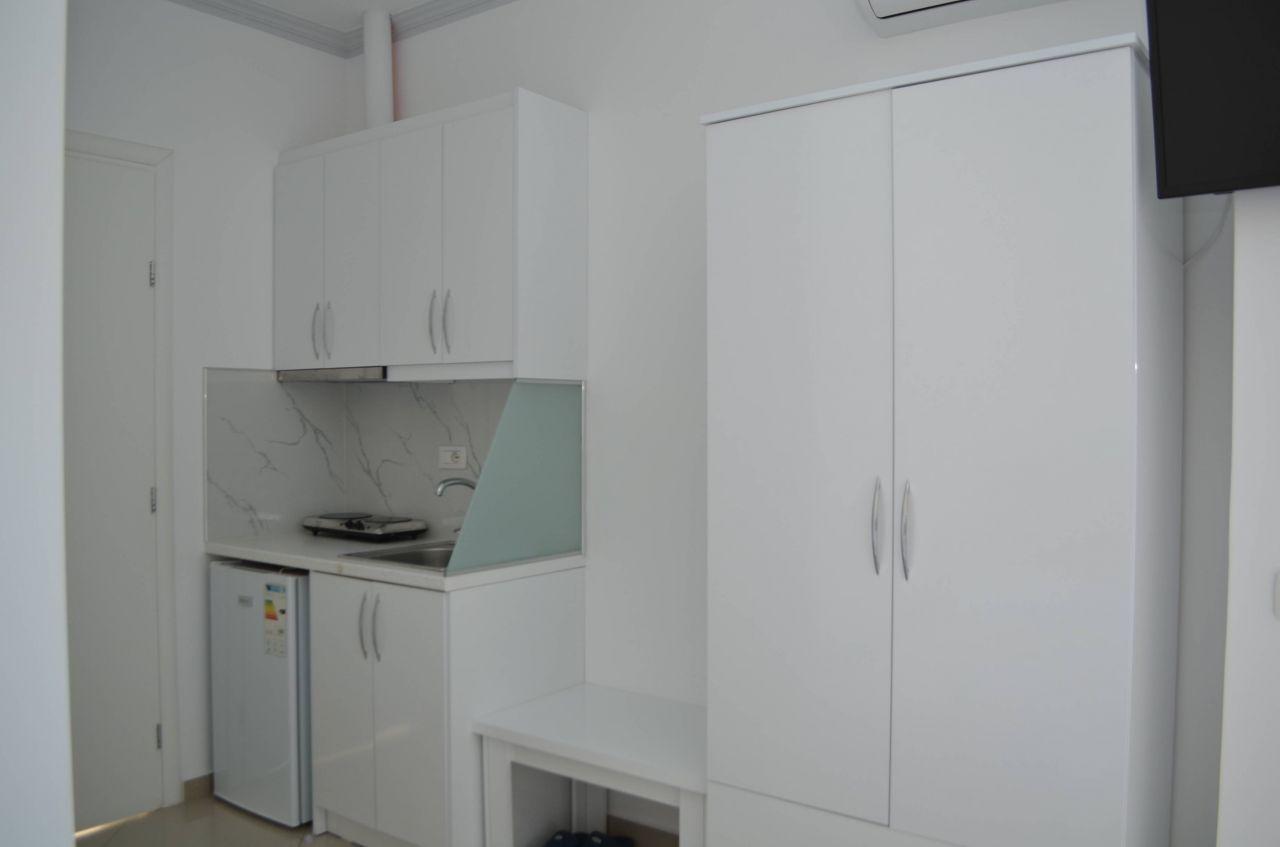 STUDIO APARTMENT IN ALBANIA. APARTMENT FOR RENT IN SARANDA
