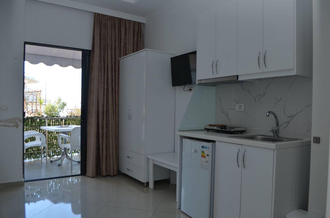 Studio Apartment for RENT in Saranda . Rent apartment in Albania.