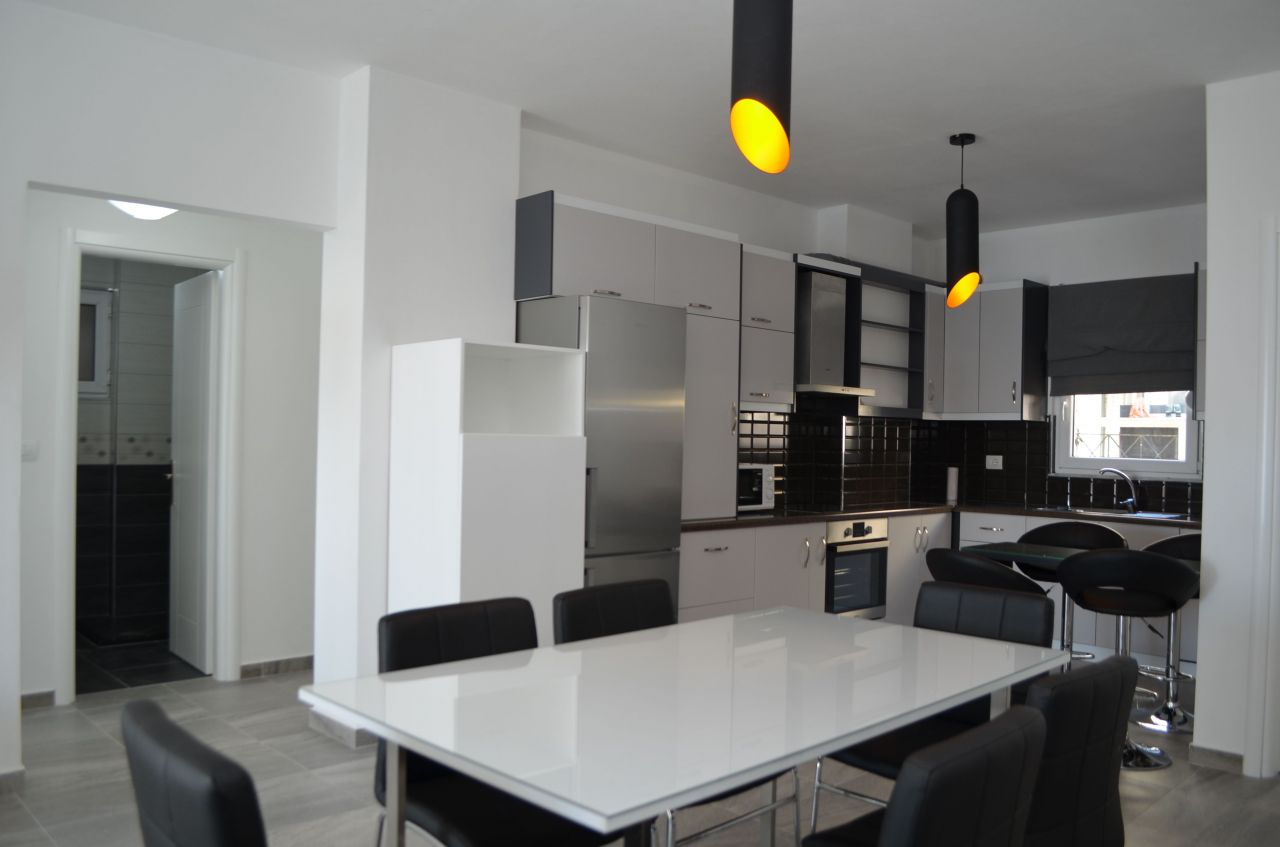 Brand New Rent Apartment In Saranda With Modern Furniture