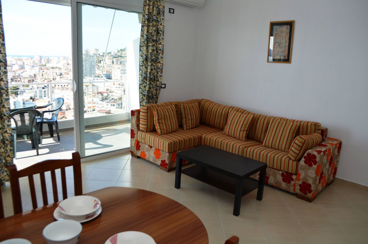 HOLIDAY APARTMENT FOR RENT IN SARANDA, SOUTH OF ALBANIA