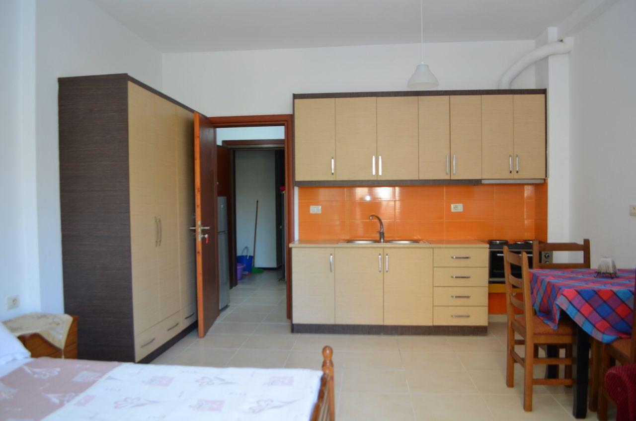 STUDIO APARTMENT FOR RENT IN SARANDA
