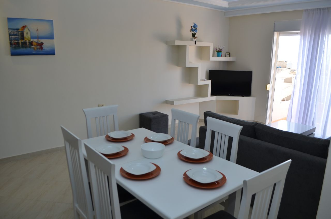 APARTMENT FOR RENT IN SARANDA. VACATION APARTMENTS IN ALBANIA