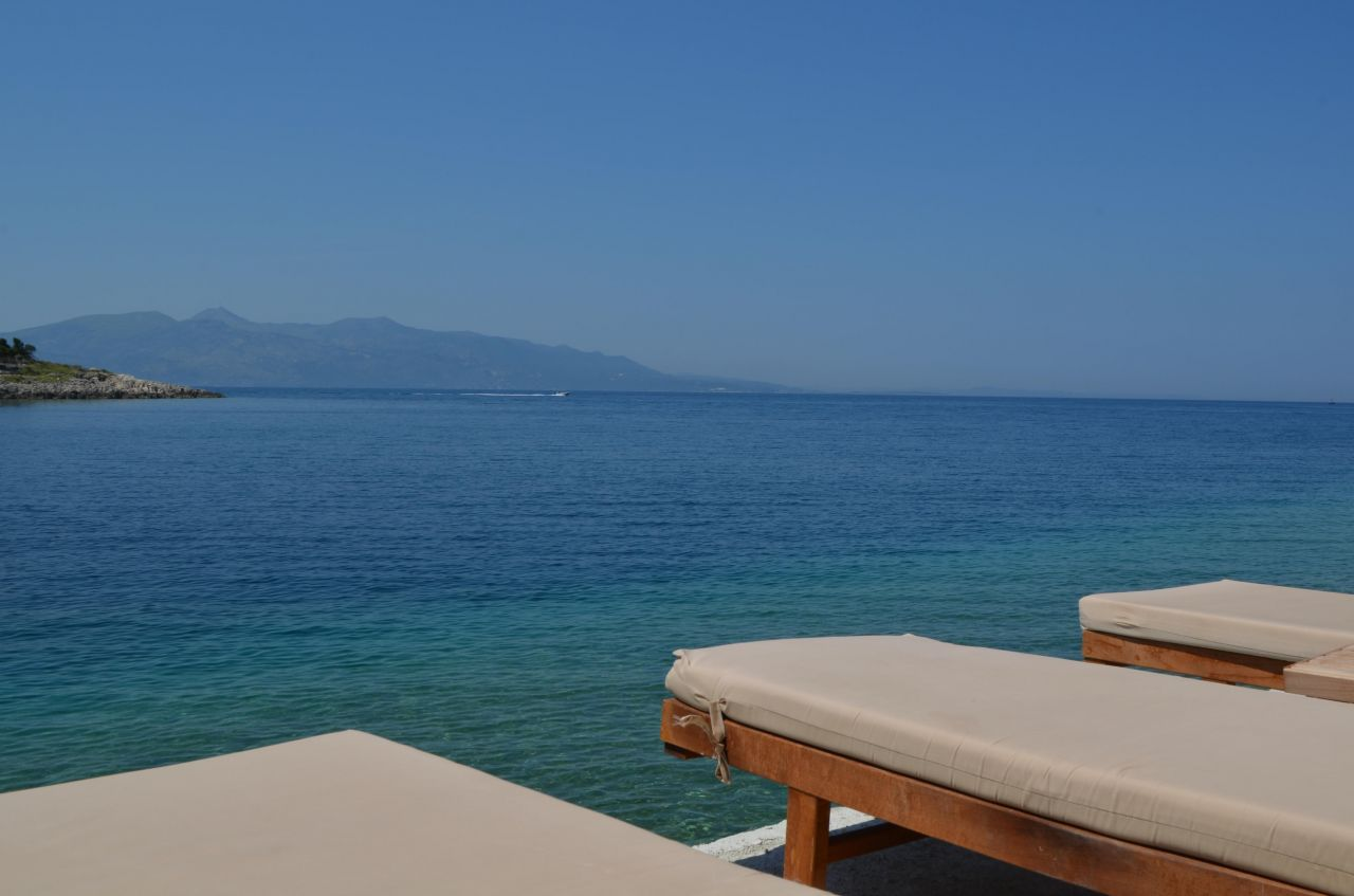 Apartment  With Private Beach in Saranda