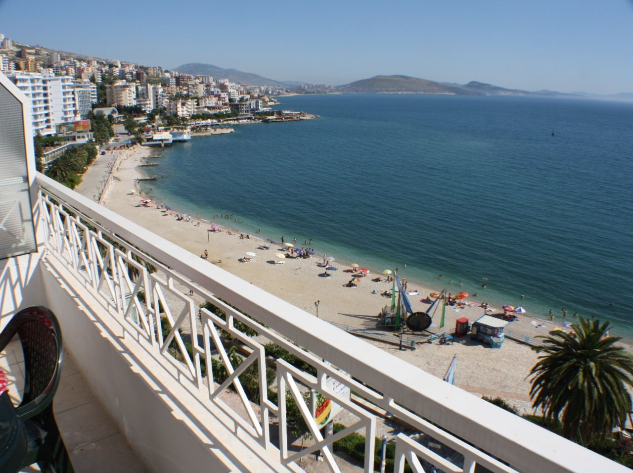Front line apartment in Saranda with great investment potencial