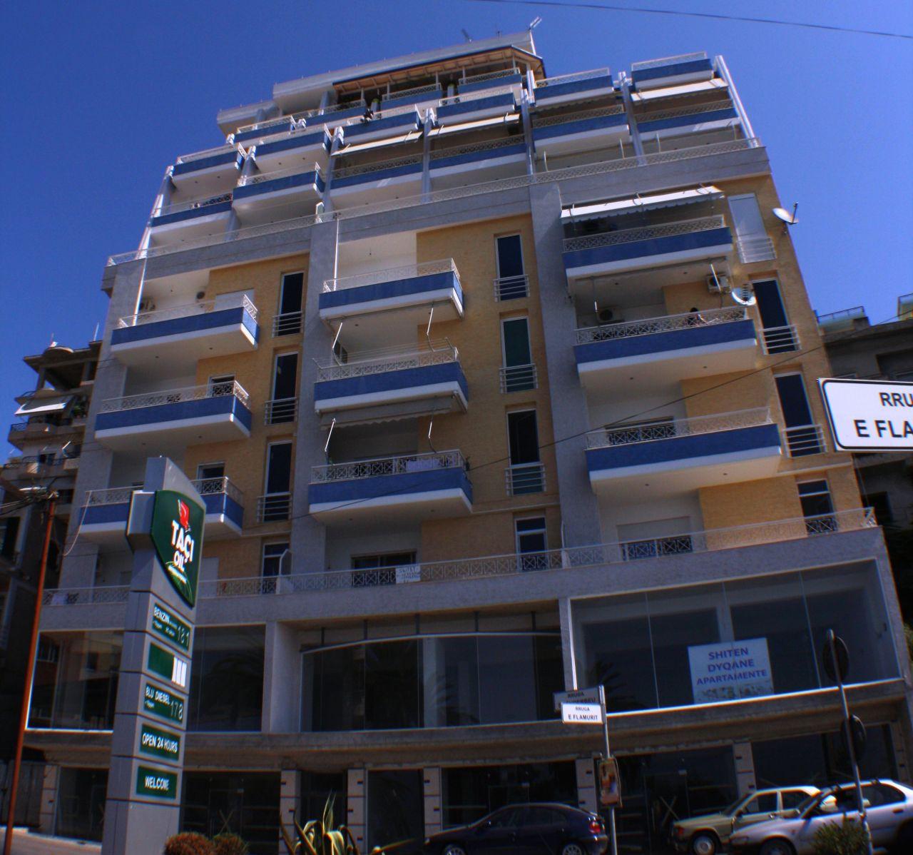 Albania Real Estate in Saranda for Sale. Apartment in Saranda City Center Next to Ionian Sea