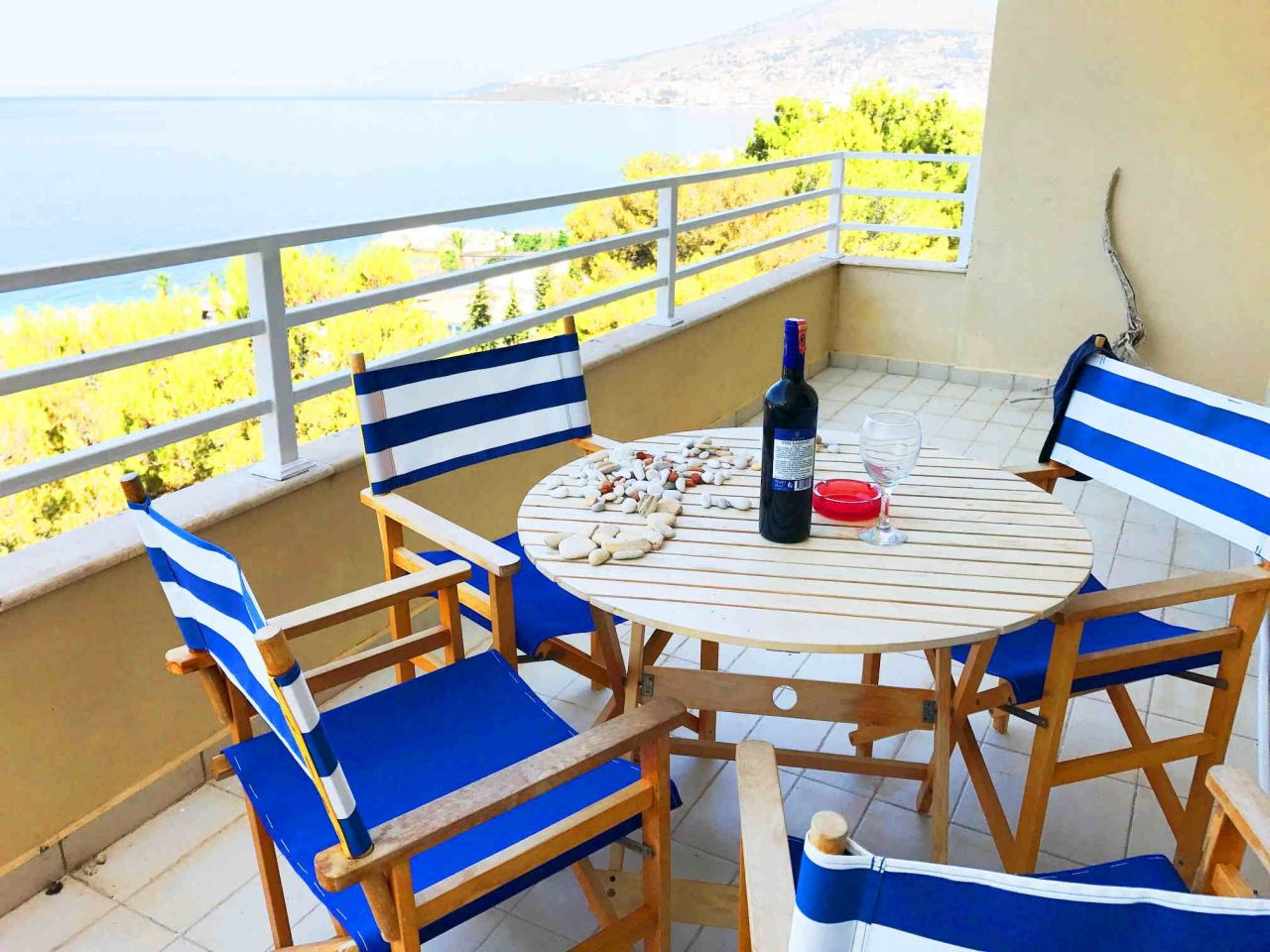 Sea View Saranda Apartment For Sale