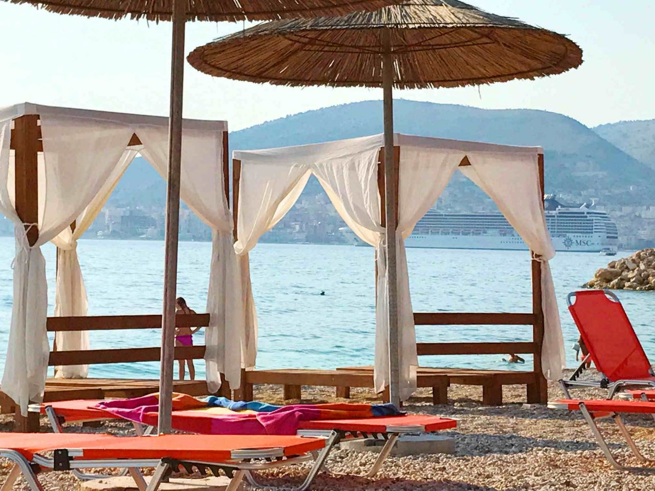 Investment Apartment For Sale In Saranda With Two Bedrooms