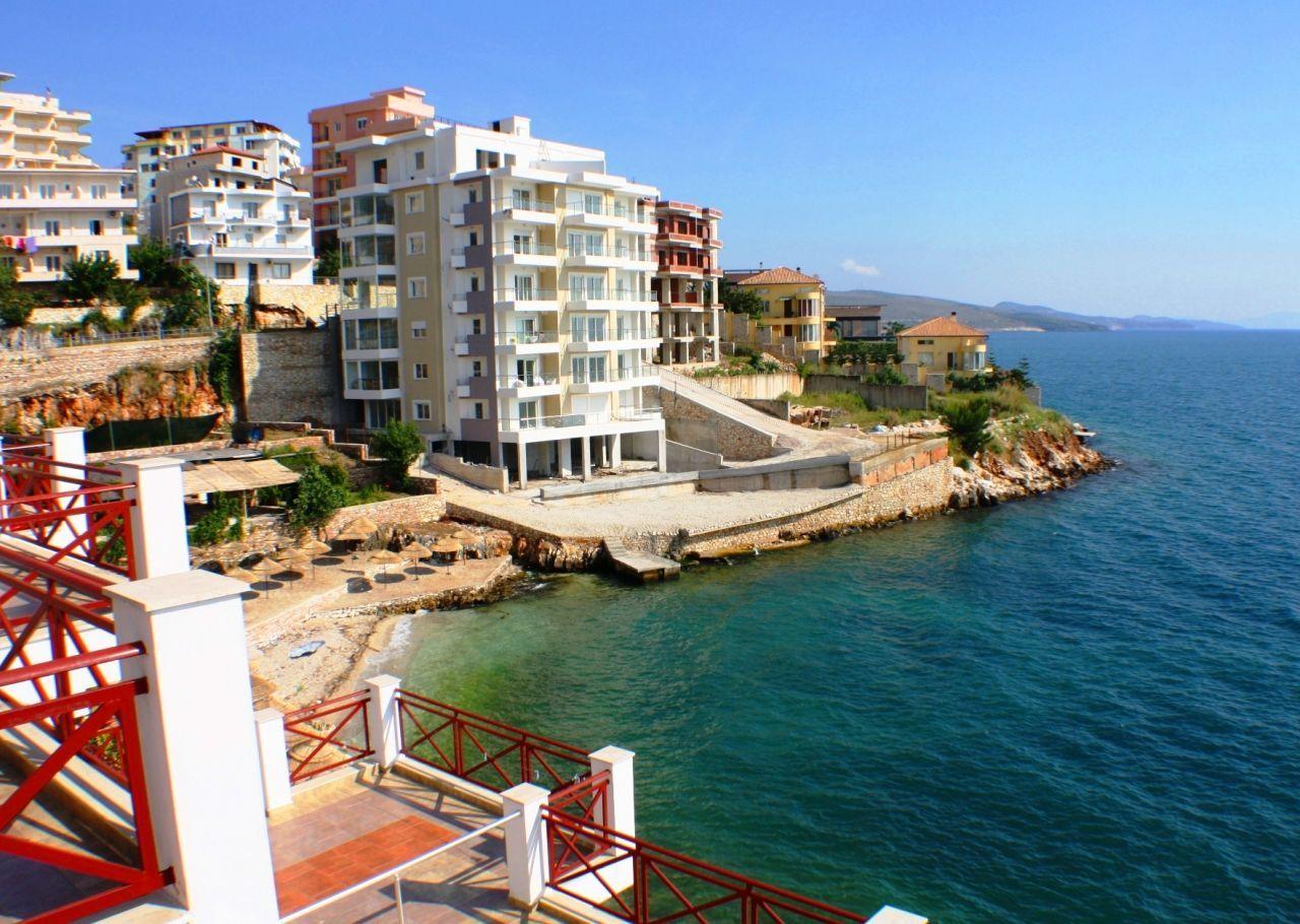 Albania Real Estate. Apartments in Saranda for Sale Next to Ionian Sea