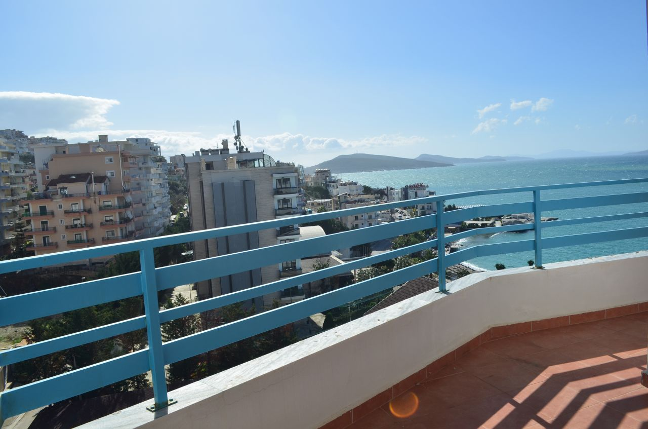 Albania Real Estate in Saranda. Apartment in center Saranda for Sale Next to Ionian Sea