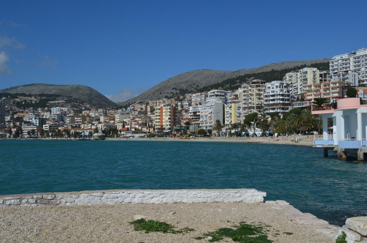 Albania Real Estate in Saranda. Apartment in center Saranda for Sale Next to Ionian Sea