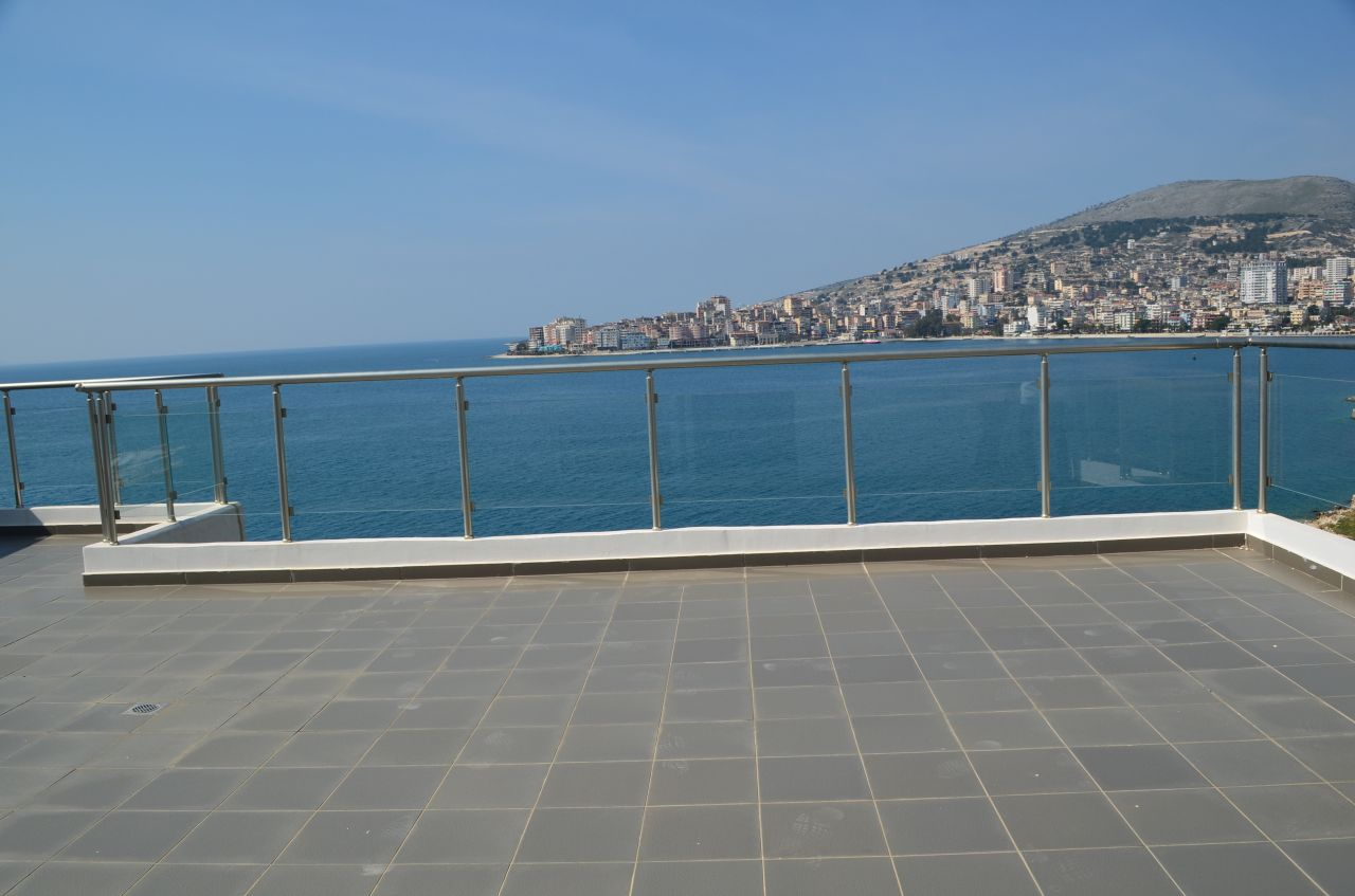 Albania Real Estate in Sarande. Penthouse Apartment for Sale in Sarande.