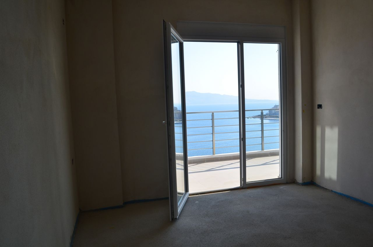 Apartment for sale in Saranda, with beautiful view at Ionian Sea.
