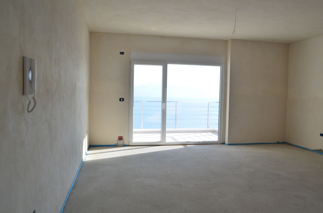 Apartments in Saranda with beautiful view over the Ionian Sea and Saranda city