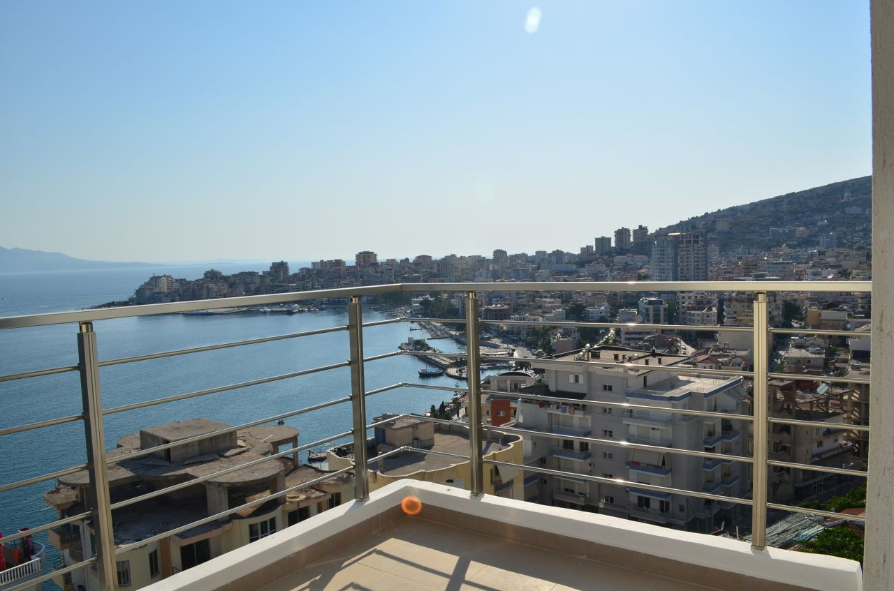Albania Property in Sarande. Apartments in Sarande with spectacular sea view