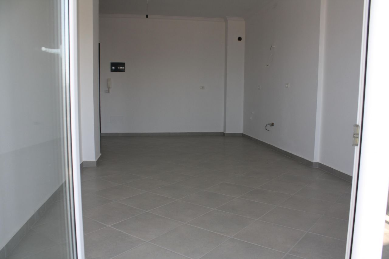 Newly constructed apartments in saranda next the sea and the river
