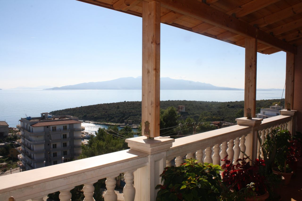wonderful villa in saranda for sale with great views over the bay of saranda