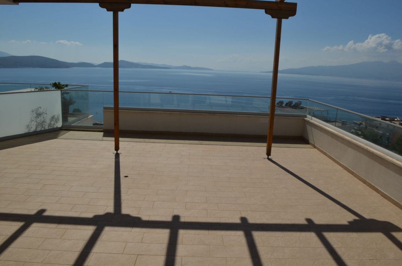 Penthouse With A Sea View For Sale In Saranda