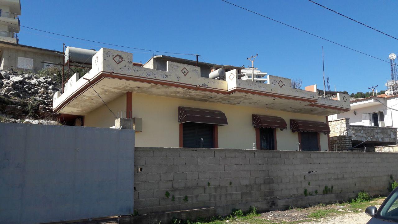 ALBANIA REAL ESTATE. HOUSE + LAND FOR SALE IN SARANDA