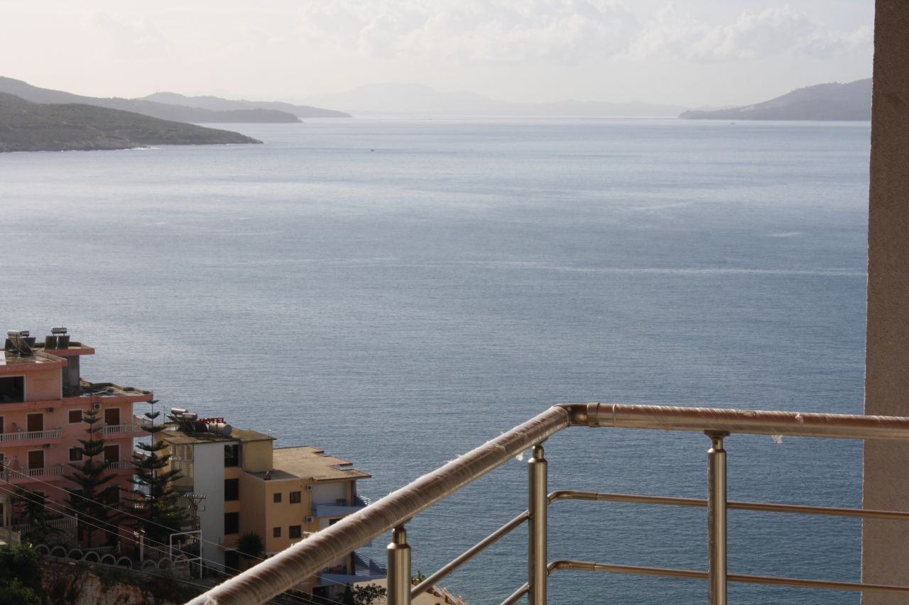 Studio Apartment with sea view for sale in Saranda, Albania