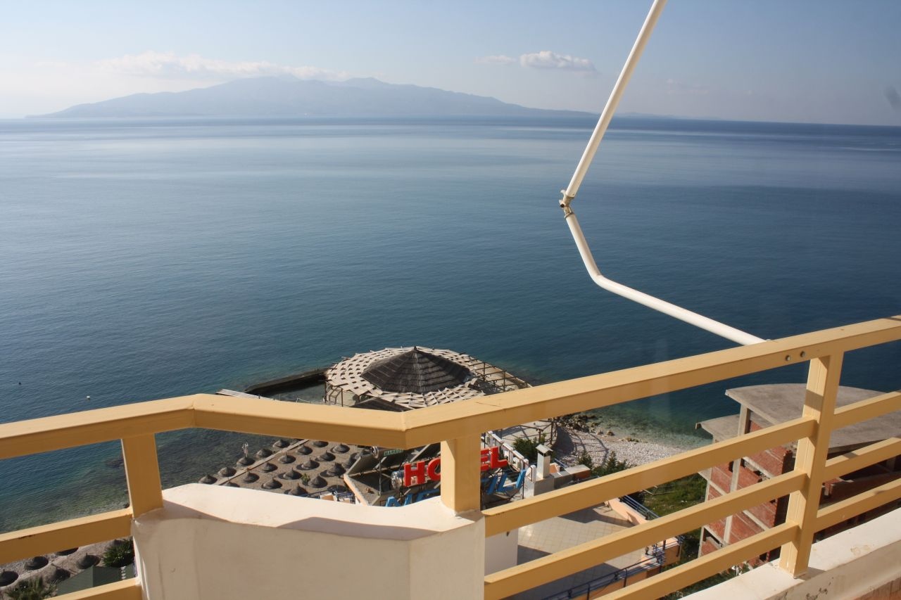 Two Studio Apartments for Sale in Saranda Near the Sea