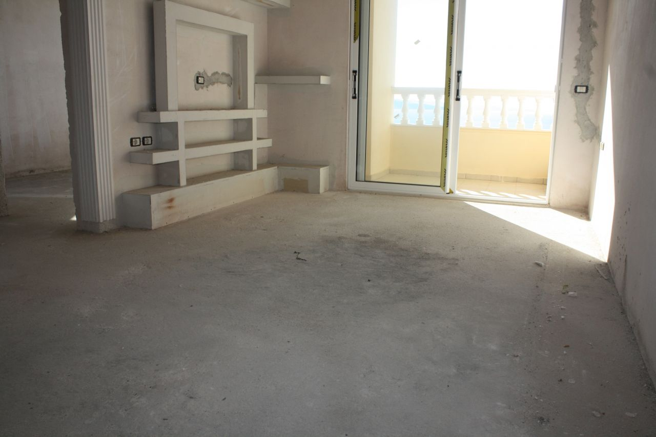 One bedroom Apartment in Saranda for Sale. Cheap apartment in Saranda for sale with one bedroom