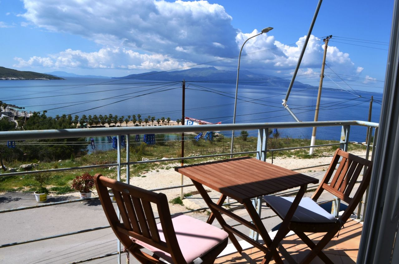 FRONT LINE APARTMENT IN SARANDA FOR SALE