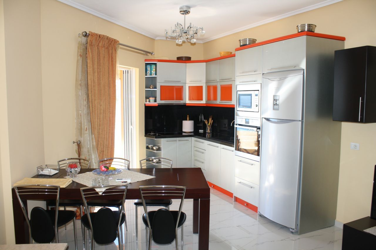 Penthouse Apartment in Saranda for Sale. Fully Furnished Apartment in Saranda