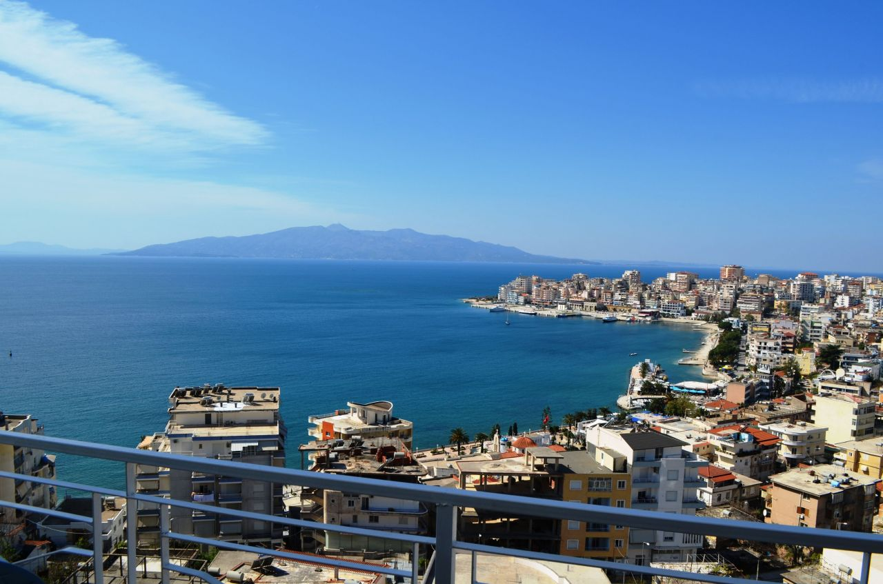 ALBANIA REAL ESTATE. APARTMENTS IN SARANDA FOR SALE WITH SEAVIEW.
