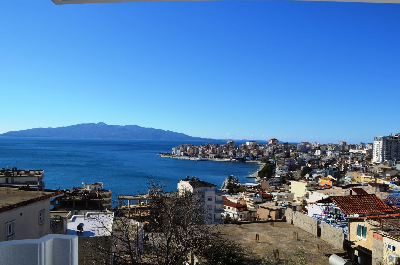One Bedroom Apartments for Sale in Saranda with Sea View