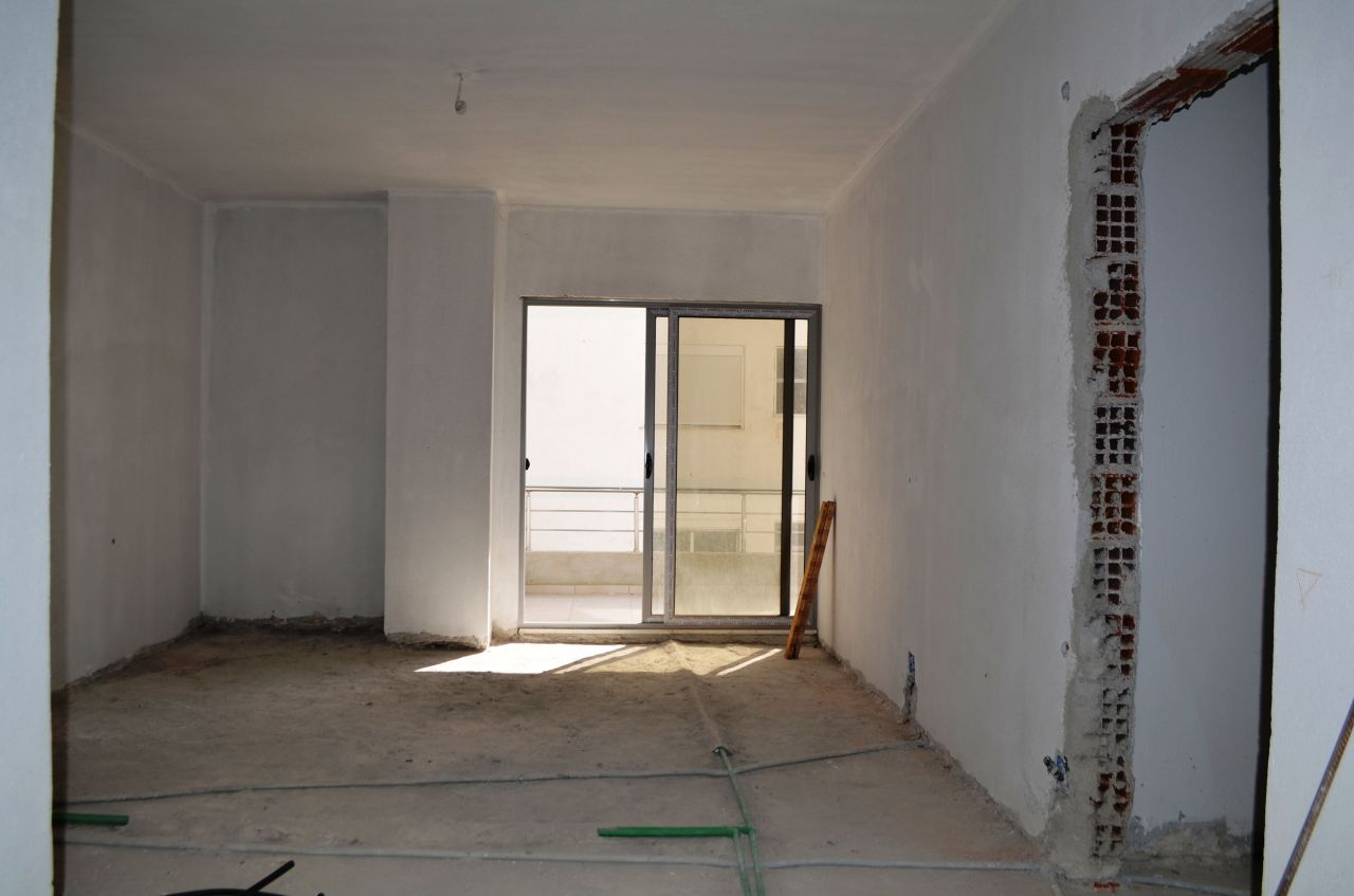 Studio Apartment for Sale in Saranda, near the beach.