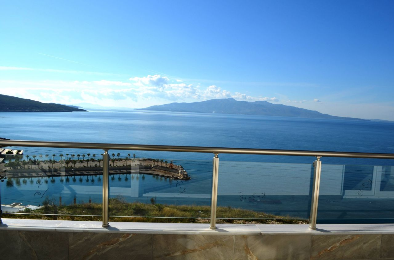 apartment for sale in saranda with two bedrooms and two bathrooms