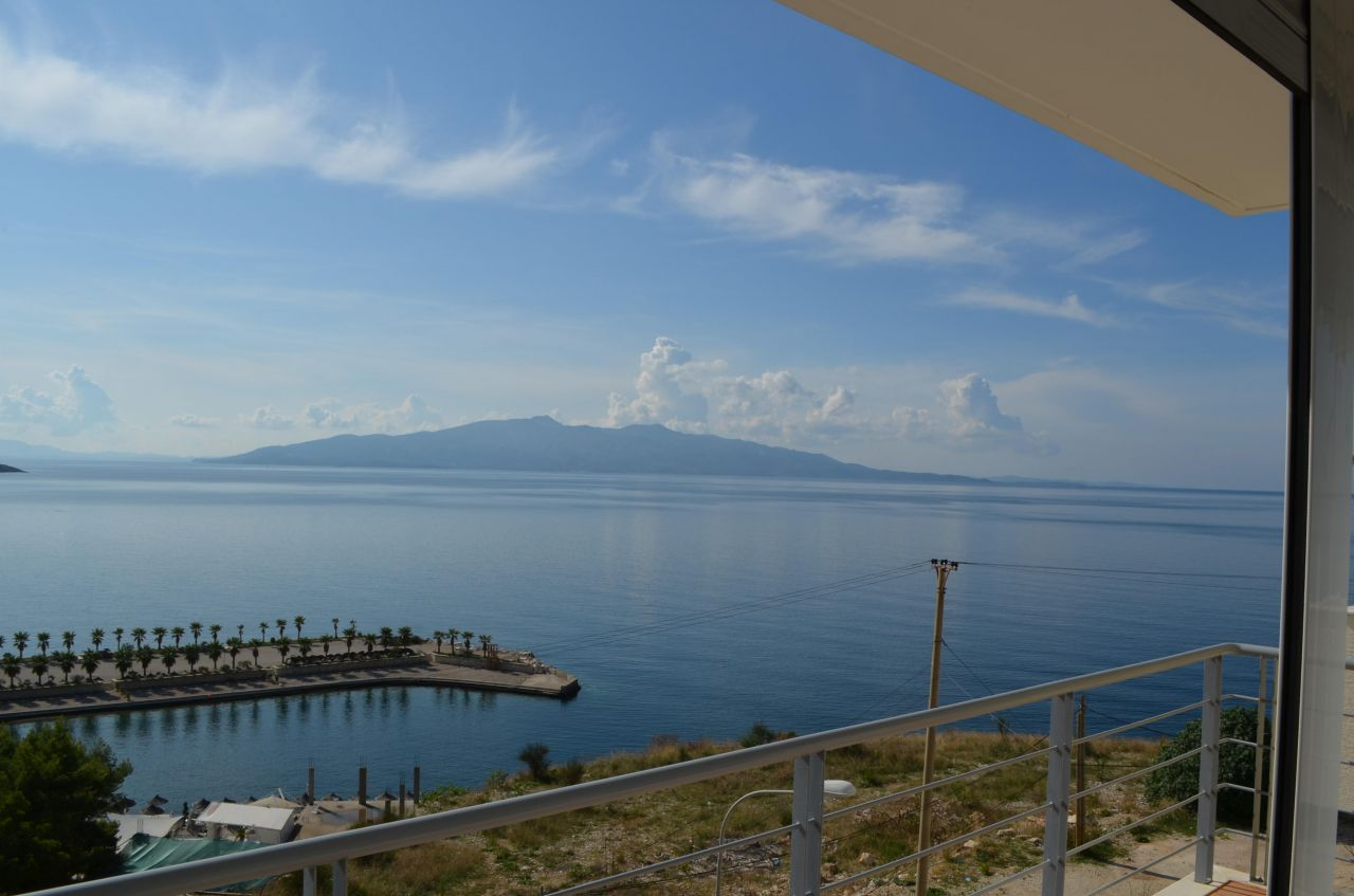 Apartment In Saranda For Sale With Furniture
